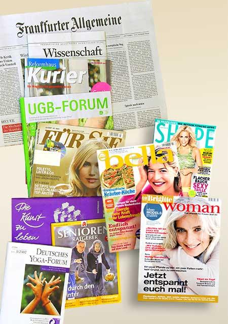 Zeitschriften, in denen Artikel und Rezensionen von mir oder über mich erschienen sind.
