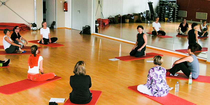 Fortbildung im Fitness-Studio