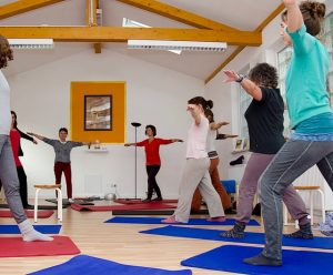 Kurs im Yoga-Zentrum Gauting