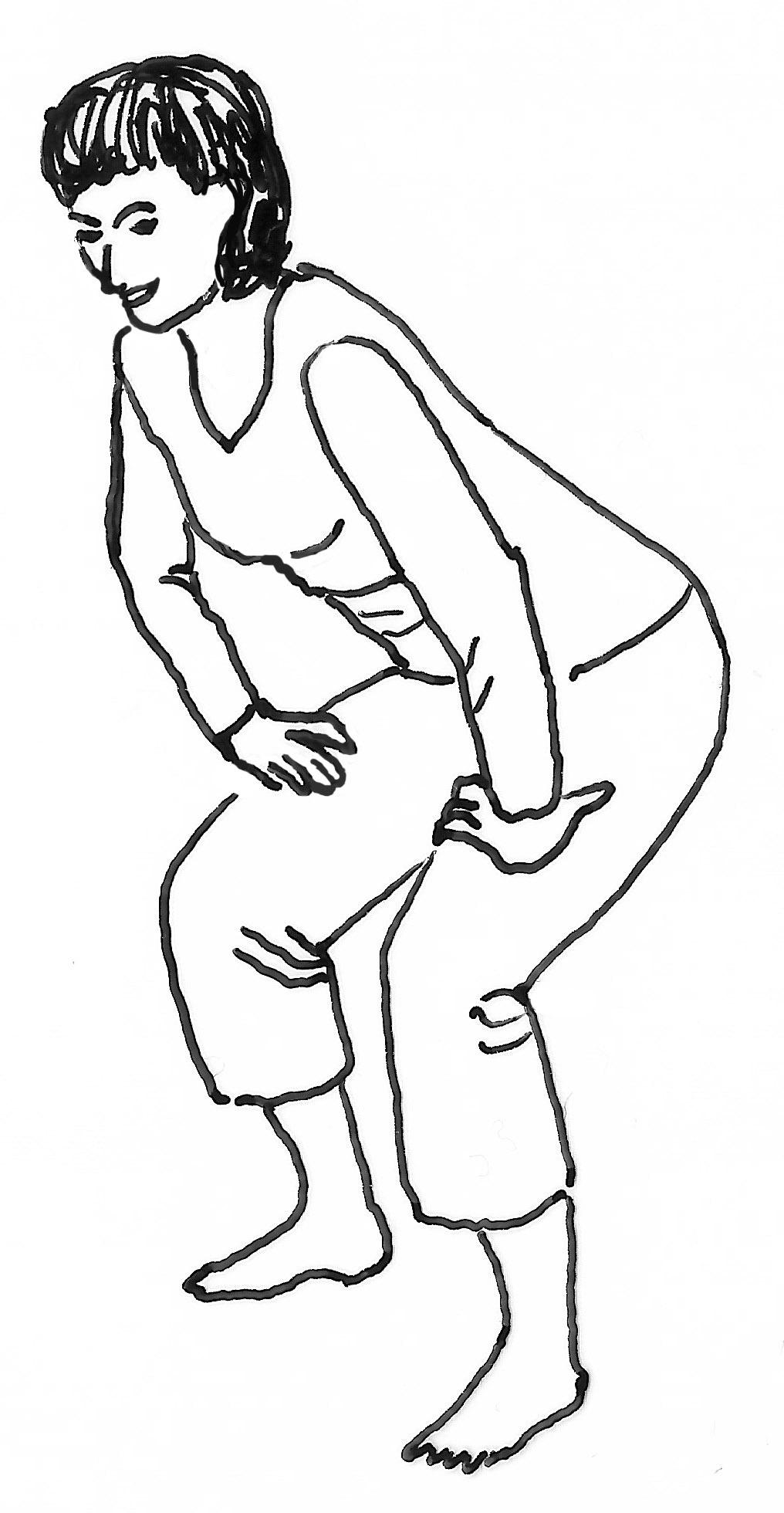 Die superstabile Kniebeugengrätsche