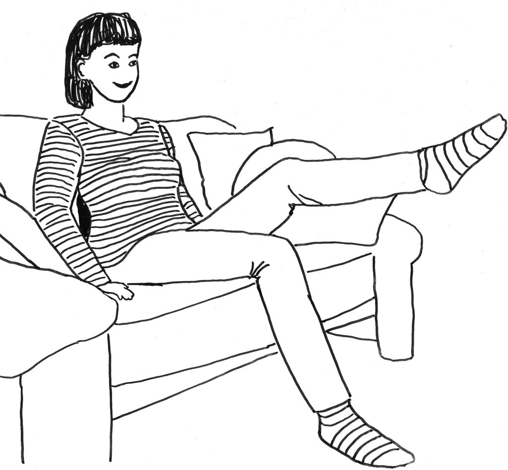 """Übung: """"Sofa-Workout"""""""