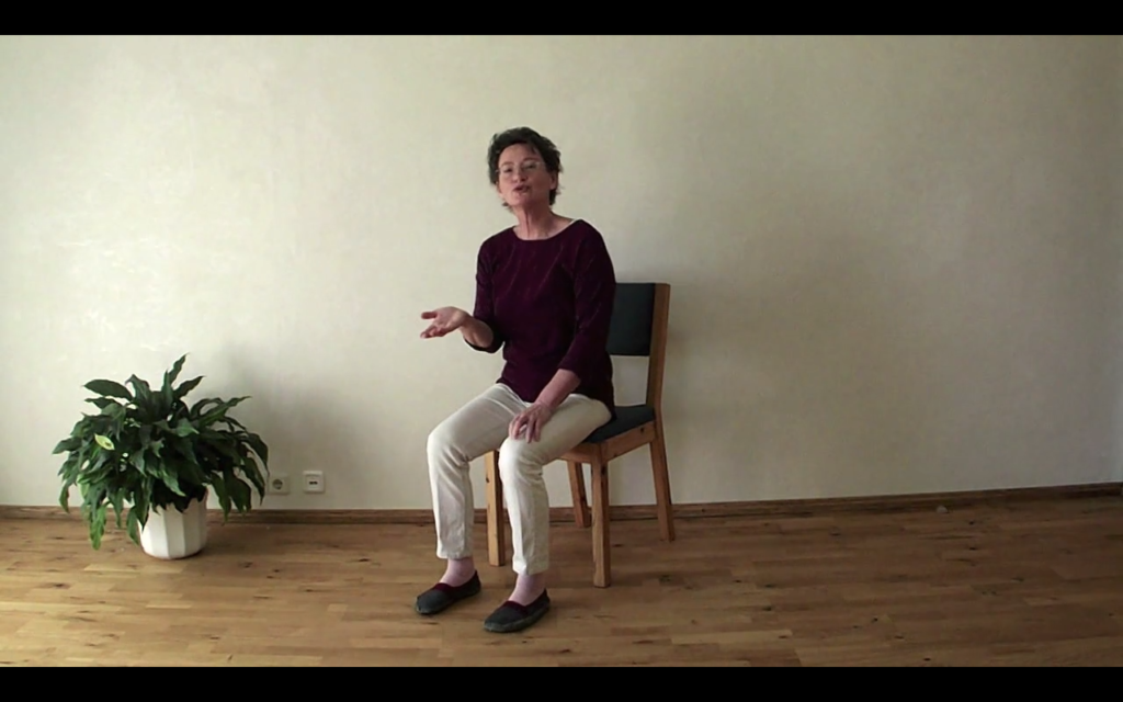 Beckenboden in Bewegung - Aktiv sitzen und Drehsitz